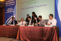 WSH Leadership Programme Partnership Agreement Signing Ceremony between SISO, NTUC and e2i.