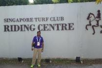 Volunteer at the Singapore Turf Club