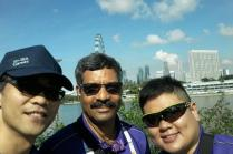 Proud SISO volunteers at Marina Bay