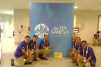 Group photo at the 28th SEA Games